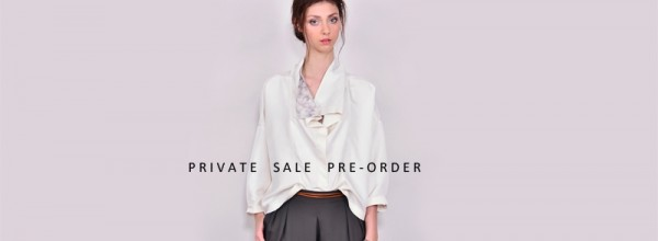 NEWS : PRIVATE SALE PARIS